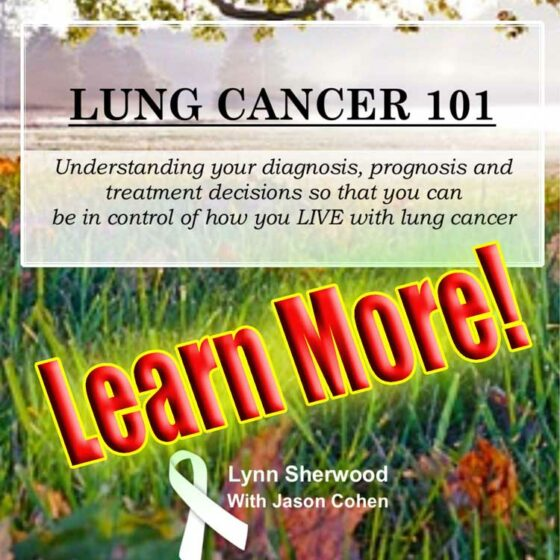Lung Cancer 101 book by Lynn Sherwood-Humphries